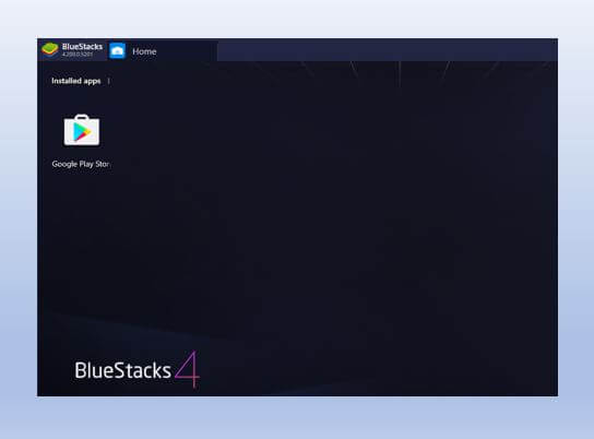 BlueStacks Home Page