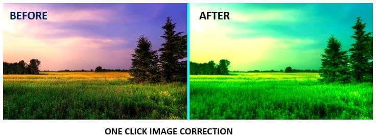 One-Click Image Correction