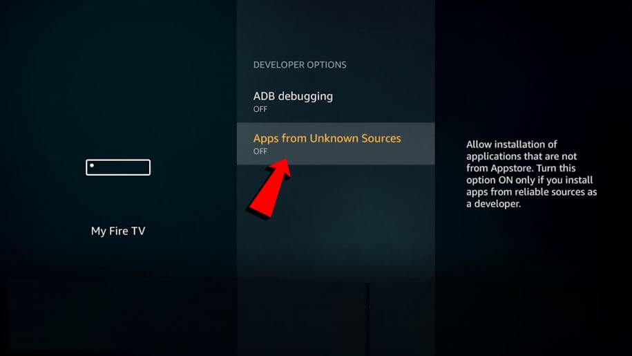 apps from unknown sources on firestick 3