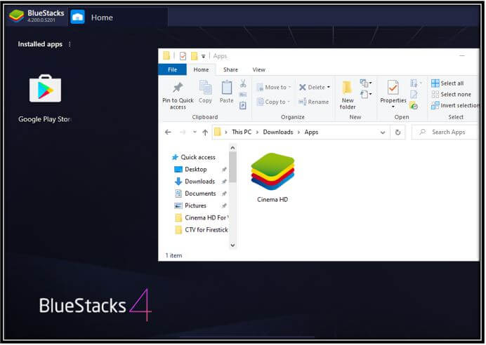 Browse apk on bluestacks image