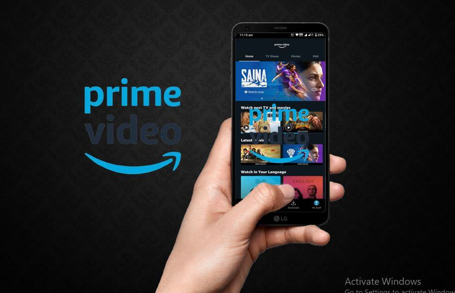 prime video screenshot
